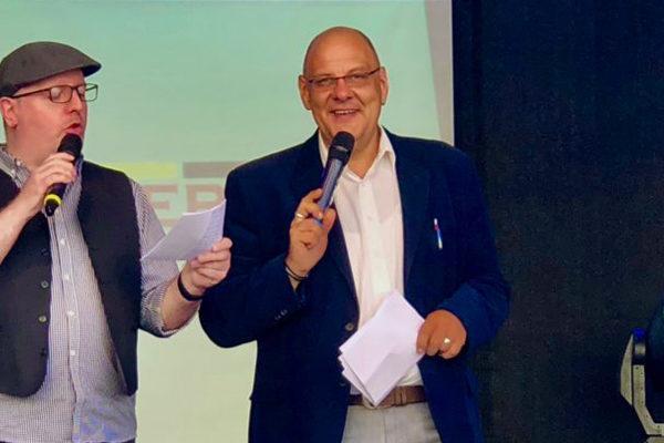 Stadtfest Werdau – Carsten Riedel und Nico Kutschenreuter auf der Bühne